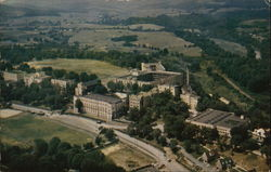 Aerial View of Virginia Military Institute