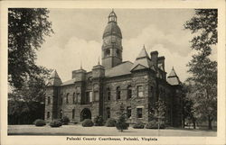 Pulaski County Courthouse Postcard