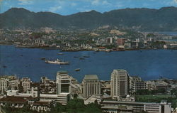 Kowloon and Victoria City Postcard