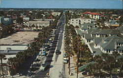 Seabreeze Boulevard from Daytona Plaza Hotel