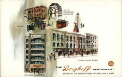The Berghoff Restaurant Postcard