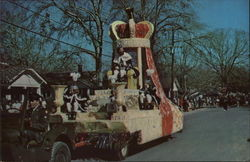 King of Mardi Gras Float