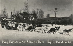 Mary Hansen & Her Siberian Team