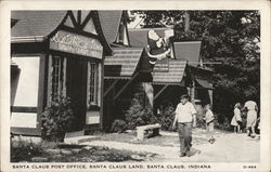 Santa Claus Post Office, Santa Claus Land Postcard
