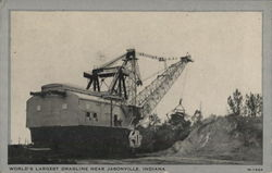 World's Largest Dragline Near Jasonville, Indiana