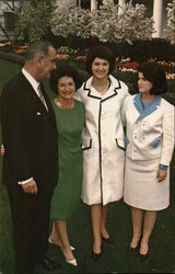 Lyndon Baines Johnson and Family