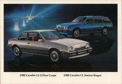 1982 Cavalier CL 2-Door Coupe & Cavalier CL Station Wagon