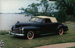 1941 Cadillac Model 62 Convertible Coupe