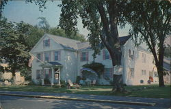 Corner Guest House and Motel Postcard