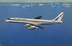 United Air Lines DC-8 Jet Mainliner