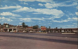 Morral's Motor Lodge and Cities Sevice Gas Station