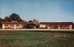 Wayside Motel and Cabins Postcard