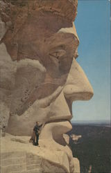 Lincoln's Head, Mt. Rushmore