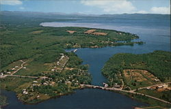 Great Sacandaga Lake Aerial View