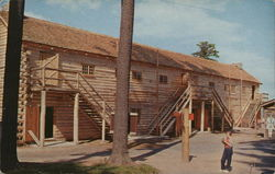 West Barracks of Fort William Henry