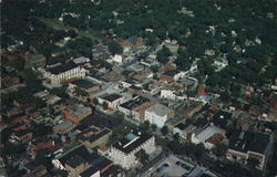 Aerial View of Saratoga Springs