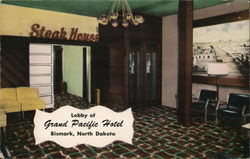 Lobby of Grand Pacific Hotel