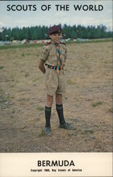 1968 Scouts of the World: Bermuda