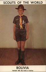 1968 Scouts of the World: Bolivia