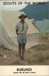1968 Scouts of the World: Burundi