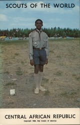 1968 Scouts of the World: Central African Republic