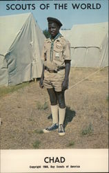 1968 Scouts of the World: Chad