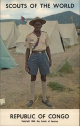 1968 Scouts of the World: Republic of Congo