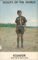 1968 Scouts of the World: Ecuador