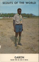 1968 Scouts of the World: Gabon