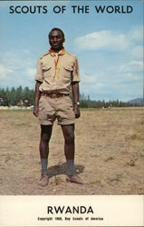 1968 Scouts of the World: Rwanda