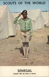 1968 Scouts of the World: Senegal