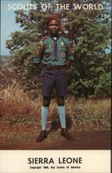 1968 Scouts of the World: Sierra Leone
