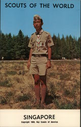 1968 Scouts of the World: Singapore