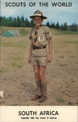 1968 Scouts of the World: South Africa