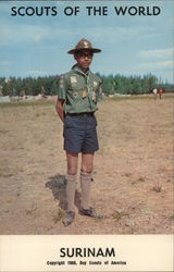 1968 Scouts of the World: Surinam