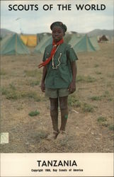 1968 Scouts of the World: Tanzania