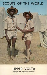 1968 Scouts of the World: Upper Volta