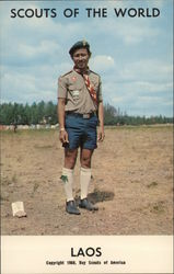 1968 Scouts of the World: Laos