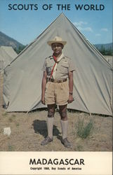 1968 Scouts of the World: Madagascar