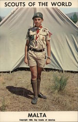 1968 Scouts of the World: Malta
