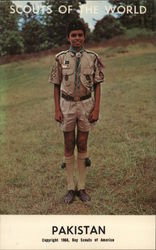 1968 Scouts of the World: Pakistan