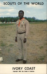 1968 Scouts of the World: Ivory Coast