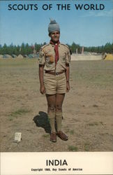 1968 Scouts of the World: India