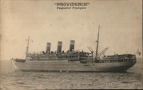 Providence Paquebot Francais Steamers