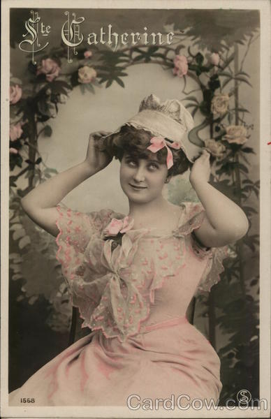 Portrait of Woman Wearing Pink Women