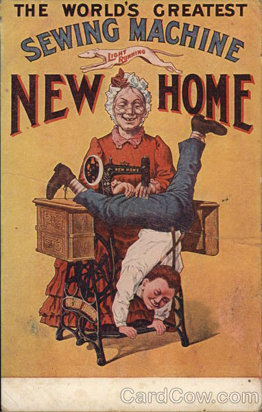 New Home Sewing Machines Advertising