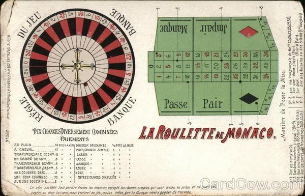 La Roulette de Monaco Casinos & Gambling