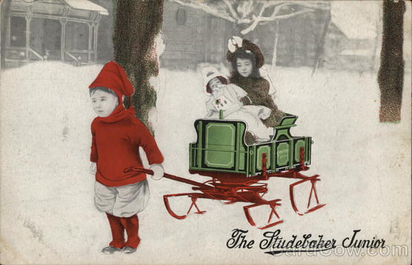 The Studebaker Junior Sleigh Advertising