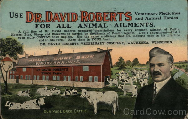 Use Dr. David Roberts Veterinary Medicines and Animal Tonics