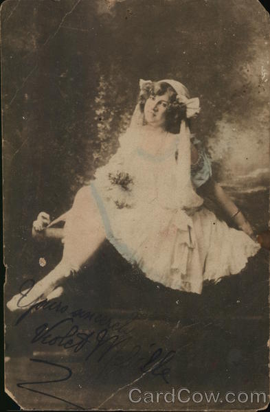 Portrait of Woman in Ballet Shoes Women